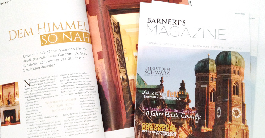Barnert's Magazine: brochure