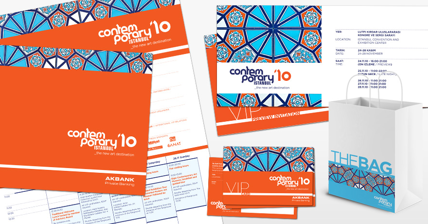 Contemporary Istanbul: promotional material