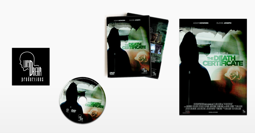 Death Certificate: DVD, poster