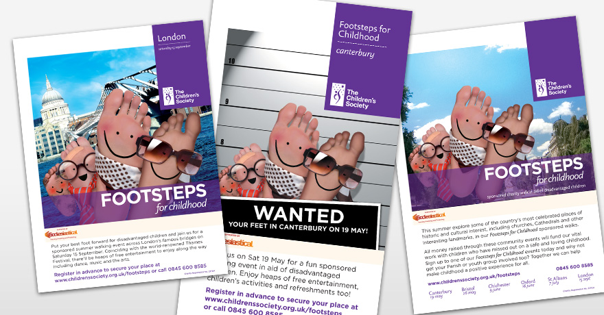The Children's Society: posters
