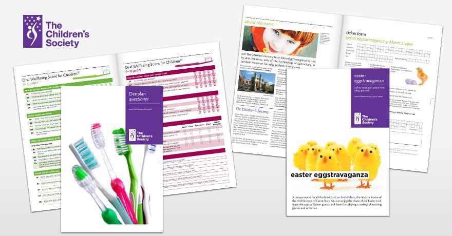 The Children's Society: brochure